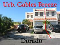 Homes for Sale in Gables Breeze, Dorado, Puerto Rico $180,000