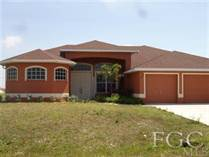 Homes Sold in NW Cape, Cape Coral, Florida $169,900