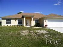 Homes Sold in Cape Coral, Florida $119,000