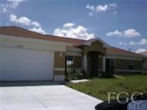 Homes Sold in Cape Coral, Florida $80,000