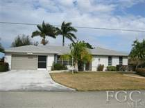 Homes Sold in SE - Units 1-2, 4-6, 8-10, 13-15, 26, 27, Cape Coral, Florida $99,900