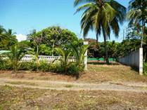 Lots and Land for Sale in Bejuco Beach, Esterillos Este, Puntarenas $250,000