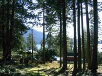 Lots and Land for Sale in Keats Island, British Columbia $99,500