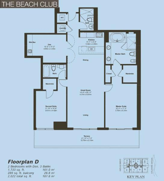 Beach ClubIII Floor Plan C