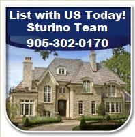 LIST & SELL FAST & for TOP Dollar with the STURINO TEAM!  905-302-0170
