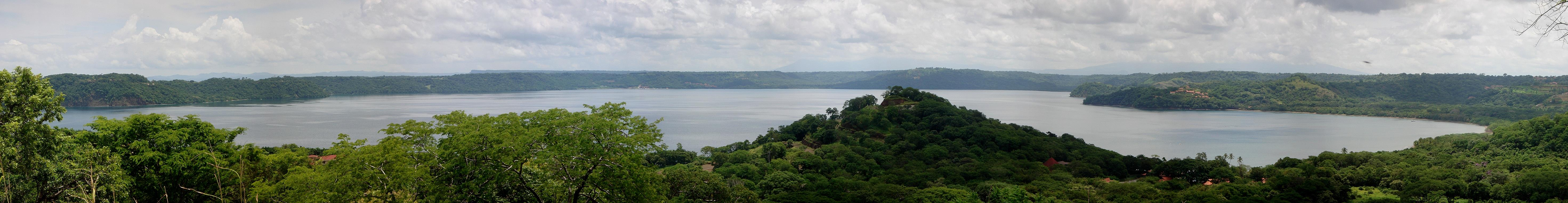 Hillside view of the Gulf of Papagayo Costa Rica