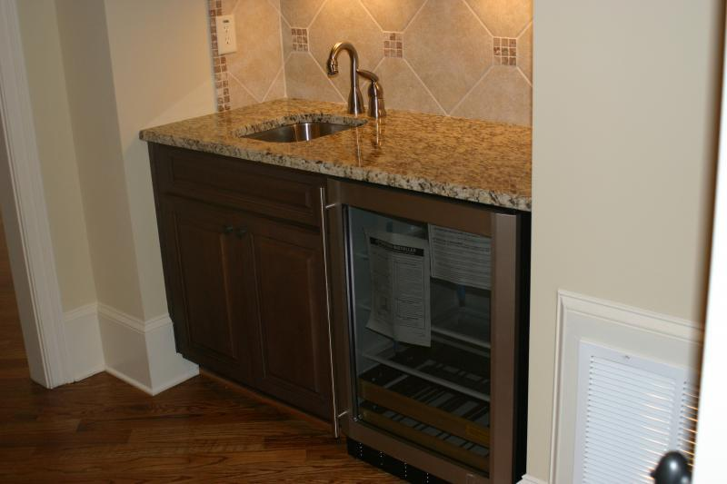 Wet Bar Sink w/Fridge