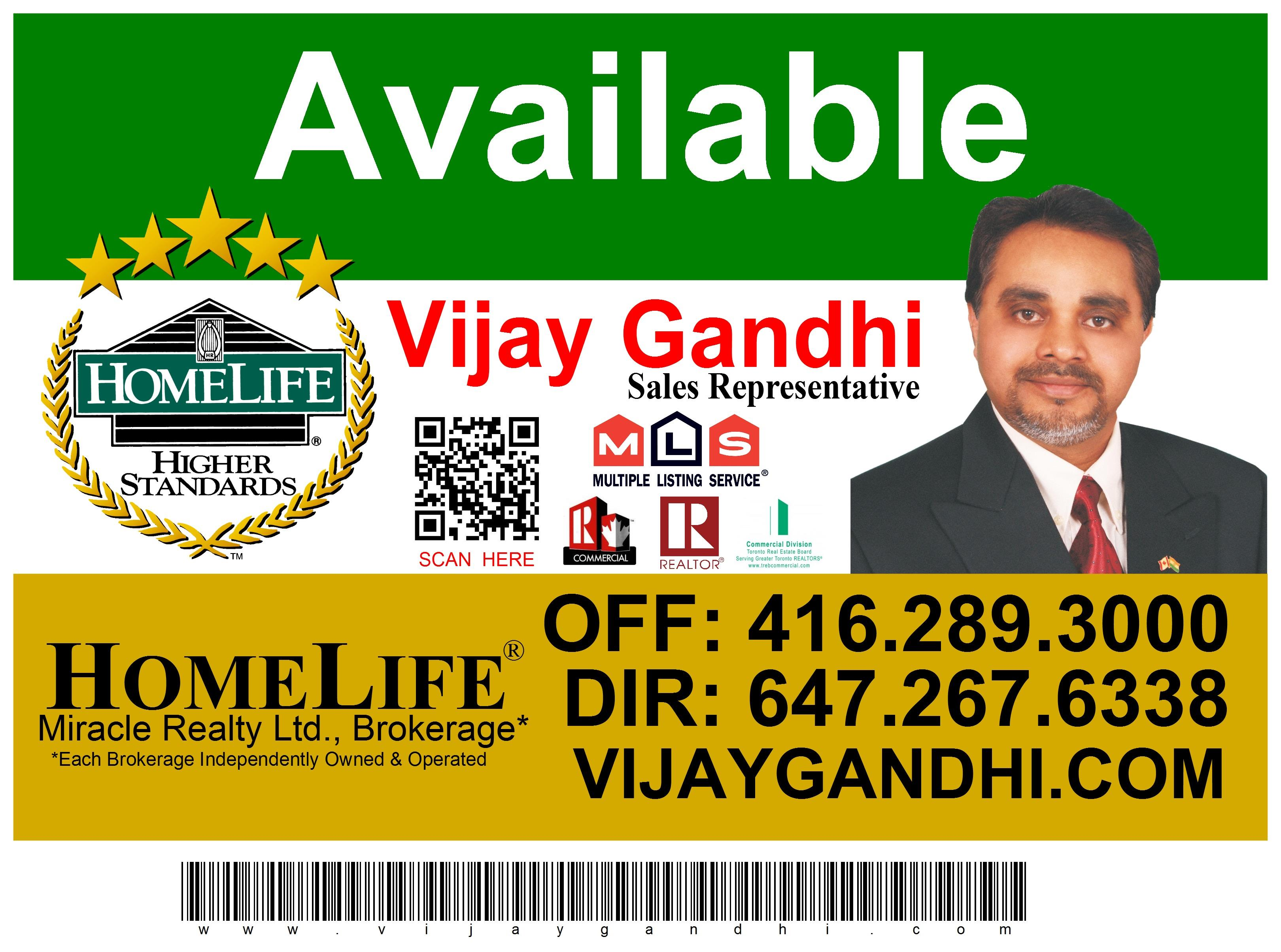 Call Vijay For Your Commercial Listing Buy or Sell