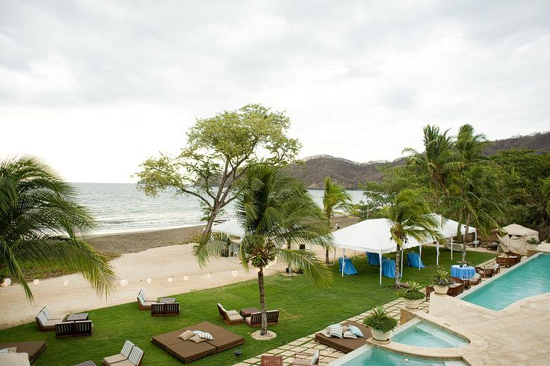 View of the beach from Costa Rica condo