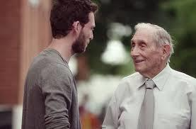 grandfather and son