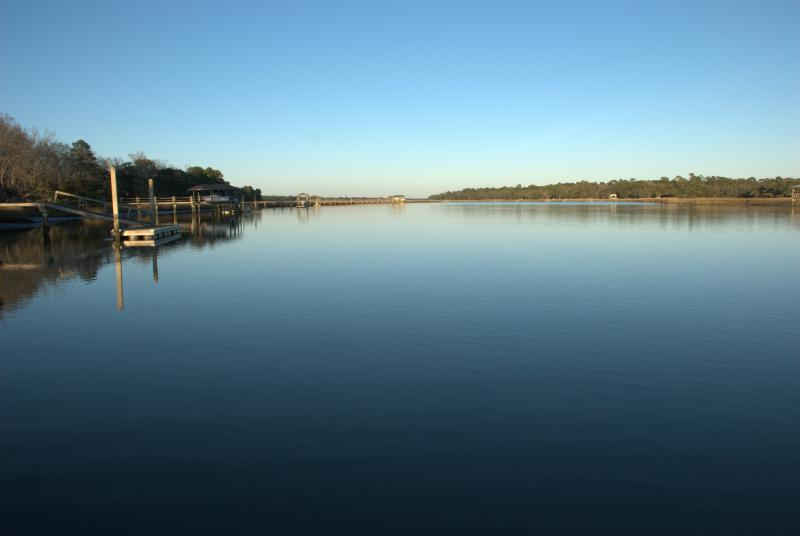Charleston area waterfront - this is a  navigable river