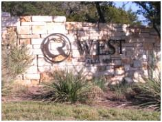 The Alta Mira Circle C West entrance from FM-1826 in SW Austin