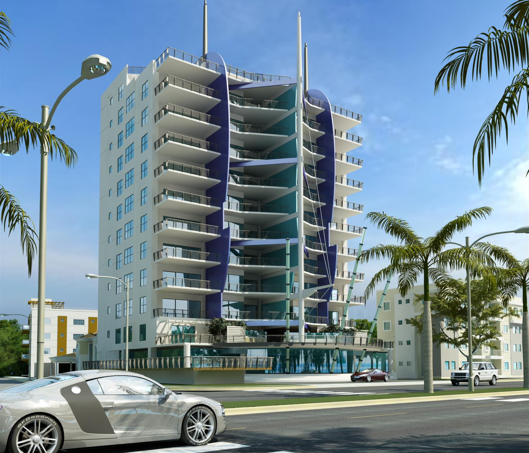 Oceanfront apartments for sale in Santo Domingo