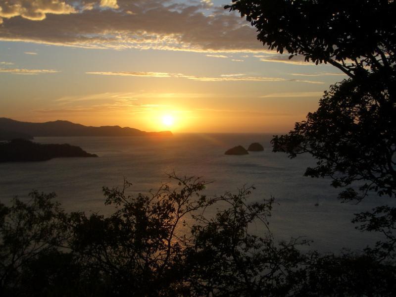 Sun Set over Punta Gorda Costa Rica