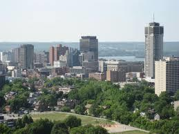 Hamilton view from the escarpment