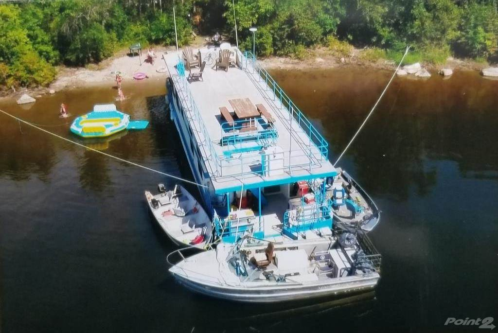 Nw Ontario Full Turnkey Consistently Profitable 9 Custom Built Quality Houseboats Painted 2020 Other Photo 2