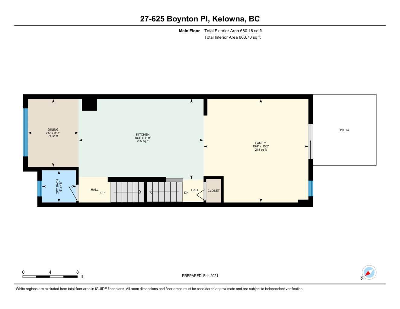 625 Boynton Place in Kelowna - Multifamily For Sale : MLS# 10221871 Photo 32
