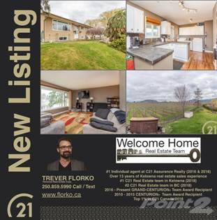 House  in 2495 Sexsmith Rd, Kelowna, British Columbia, V1V2E9