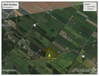 Land for Sale for Sale 2623 Huntley Rd Ottawa Ontario $895,800